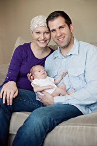 Kristina - died of cancer, leaving her husband and baby behind