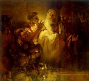 Rembrandt_-_Peter_Denying_Christ_-_WGA19121