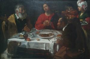 Caravaggio_Liebfrauenkirche_Abendmahl_in_Emmaus