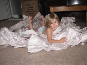 Drowning in Packing Paper