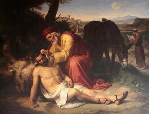 El_bon_samarità_(1838),_de_Pelegrí_Clavé_i_Roquer