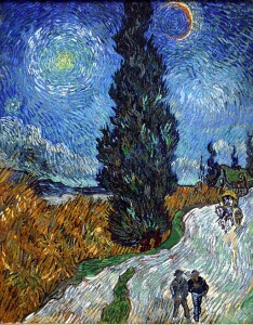 Van Gogh Dark Road