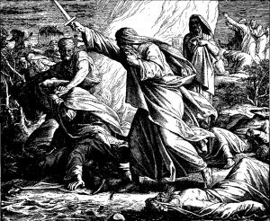 Elijah fights